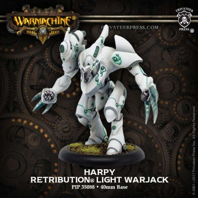 Retribution Harpy Light Warjack
