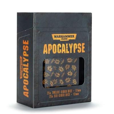 WH40K Apocalypse Würfelset