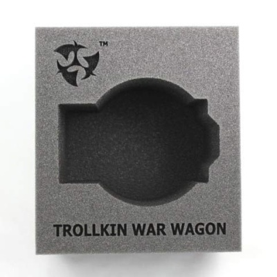 (Trollbloods) Trollkin War Wagon Battle Engine Tray