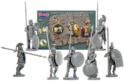 Athenian Armoured Hoplites( 5th-3rd BCE)