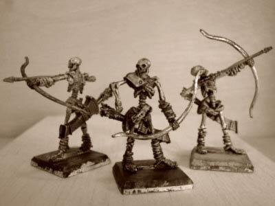 Skelettbogenschützen I