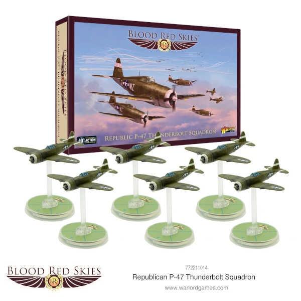Republic P-47 Thunderbolt Squadron