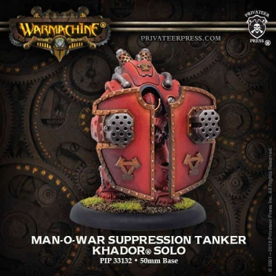 Man-O-War Suppression Tanker - Khador Solo