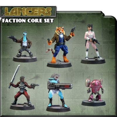 Counterblast Adventure Battle Game Lancer Faction Core Set