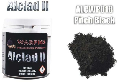 Alclad II PIGMENT: Pitch Black