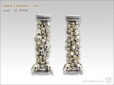 Totenschädel Säulen #1 (2)