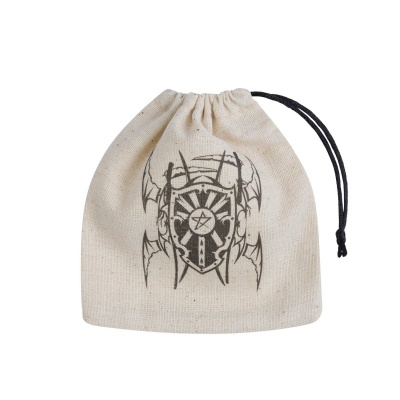 Vampire Beige & black Basic Dice Bag