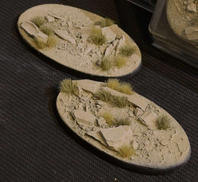 Arid Steppe Bases - Oval 90mm (2)