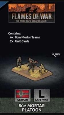 8cm Mortar Platoon (Plastic) (6)