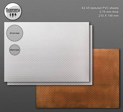 Textured Sheet: Regular Brickwork (2)