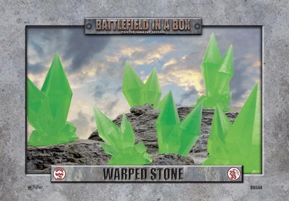 Warped Stone (green)