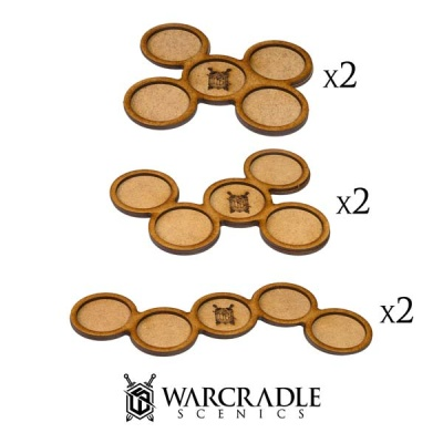 Skirmish Movement Trays - 32mm (6)