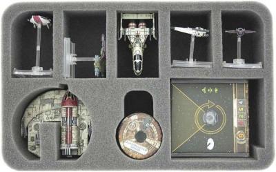 Star Wars X-WING Vollstrecker Eins, Raumschiffe und Zubehör