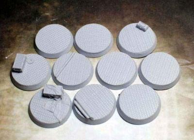 Beveled Edge: 32mm Steel Plating (10)