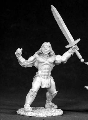 Brand, Male Barbarian