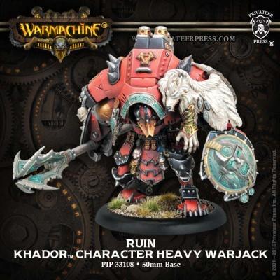Khador Character Heavy Warjack Ruin (plastik)