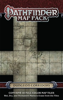 Pathfinder Map Pack: Dungeon Corridors