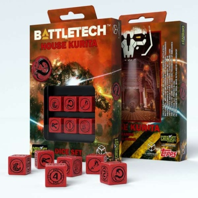 Battletech House Kurita D6 Dice (6)