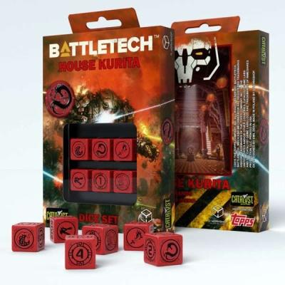 Battletech House Kurita D6 Dice (6)