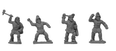 Scythian Infantry (random 8 of 4 designs)