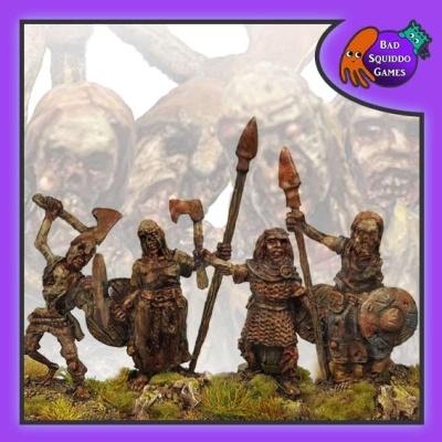 Zombie Shieldmaidens (4)