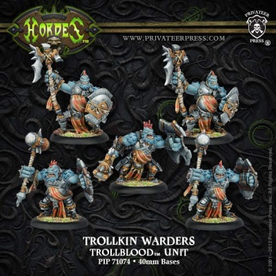 Trollblood Trollkin Warders Unit (5)