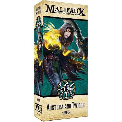 Malifaux (M3E): Explorer's Society - Austera & Twigge
