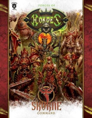 Forces of Hordes:  Skorne Command Book Soft Cover