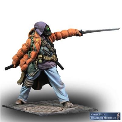 Katashi Akio, der Schwertmeister