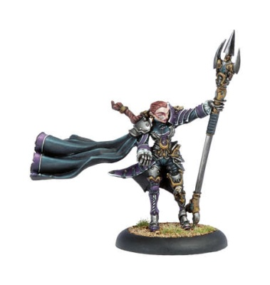 Mercenary Privateer Warcaster Fiona the Black (OOP)