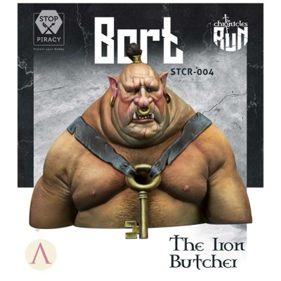 Bort - The Iron Butcher BUST