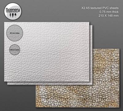 Textured Sheet: Irregular Stone Paving (2)