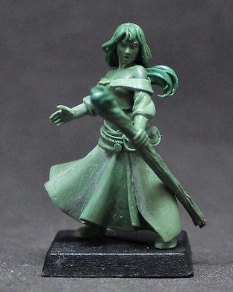"""Female Human Wizard """"Mirhiban Al'Orhima"""""""