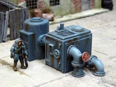 Pipes & Tank Set