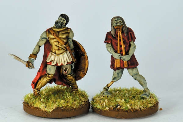 Greek Undead Commander and Musician