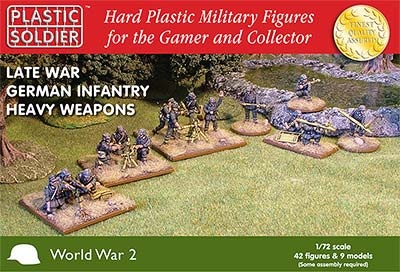 1/72: Late War German Infantry Heavy Weapons