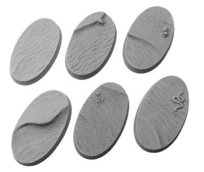 Desert Bases, Oval 60mm (4)