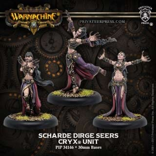 Cryx Scharde Dirge Seers