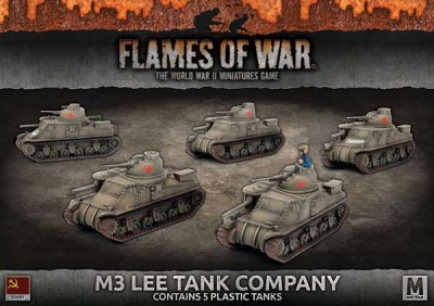 M3 Lee Tank Company (Plastic)