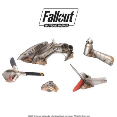 Fallout: Terrain Expansion: Crashed Vertibird