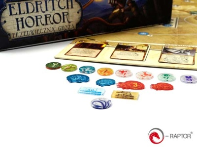 Eldritch Horror Complete Tokens Set (184 Stück)