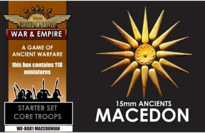 War & Empire Starter Set: MACEDONIAN