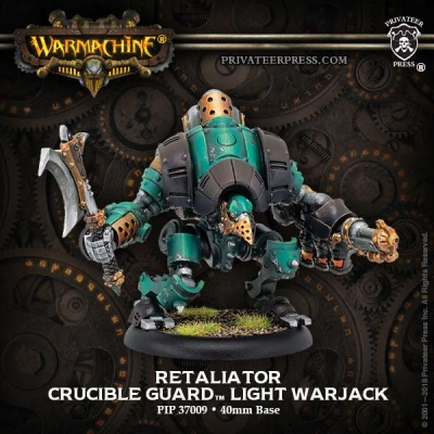 Retaliator - Crucible Guard Light Warjack (1)