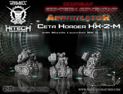 28 mm Annihilator Ceta Horder HX-2-M