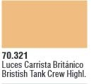 Panzer Aces 021 Highlight British Tankcrew 17 ml