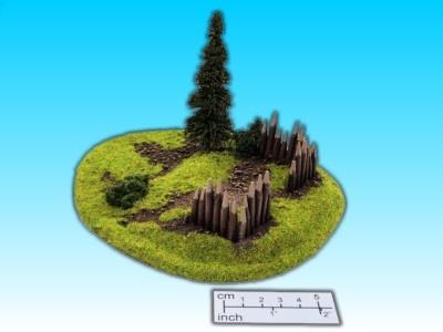 Geländestück kleine Befestigung