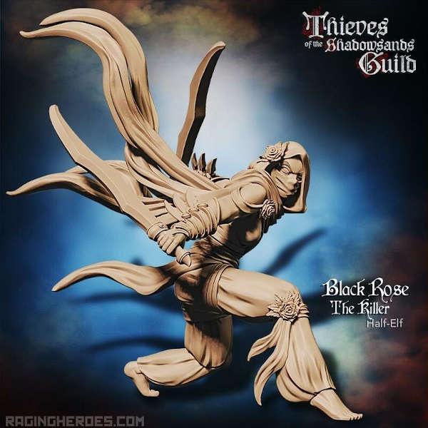 Black Rose, the Killer (T - F)