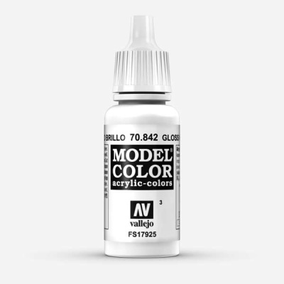 Model Color 003 Glanzweiss (Gloss White) (842)
