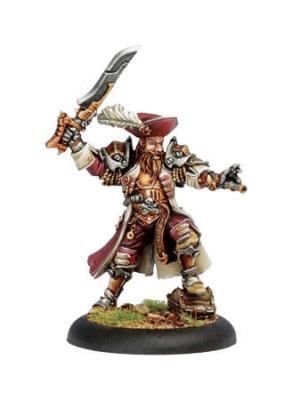 Mercenary Privateer Warcaster Bartolo Montador, aka Broadsid