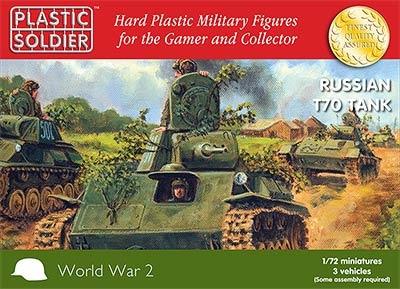 1/72: Russian T70 Tank (3)
